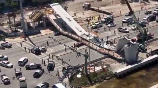 Three bridge-collapse victims found dead in cars recovered from scene in Florida