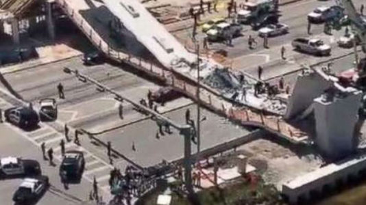 Florida bridge collapse death toll likely to rise as investigators sift through rubble, police say