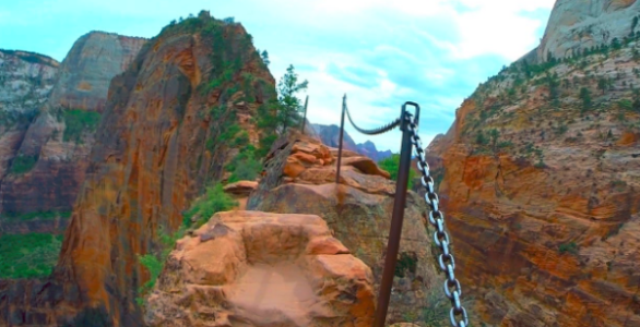 Angels Landing Trail Closed Tuesday for Trail Repair