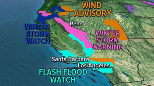 Mudslides, flash floods threaten Southern California two months after deadly storm