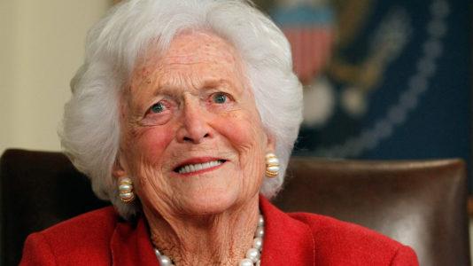Former First Lady Barbara Bush in failing health: Family spokesman
