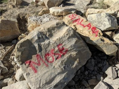 Palisade State Park vandalized with spray paint