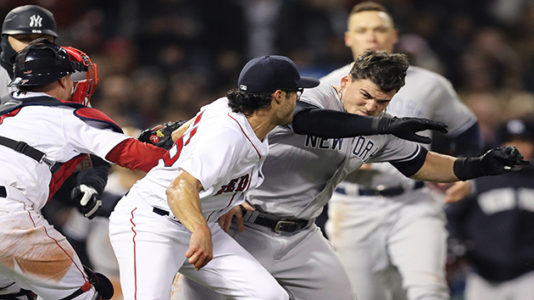 Joe Kelly, Tyler Austin among 8 disciplined for roles in Yankees-Red Sox brawl