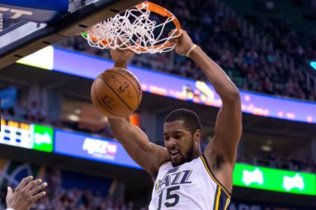 Favors, Gobert push Jazz past Pelicans 114-104
