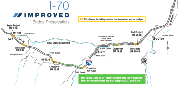 More delays coming for I-70 with bridge construction project