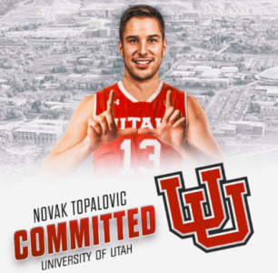 Topalovic Added to Runnin' Ute Roster