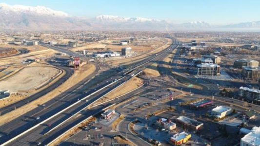 $430M project adding more lanes to Utah's I-15 begins