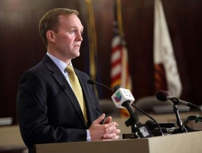 McAdams holds slight lead on Love in tight race