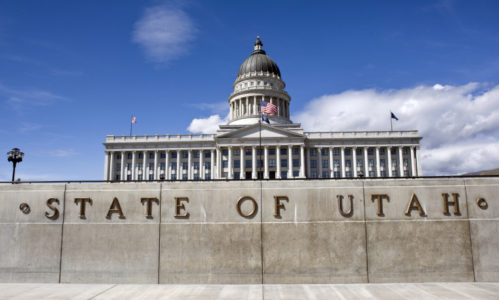 The Latest: Utah ends session with record 573 bills passed