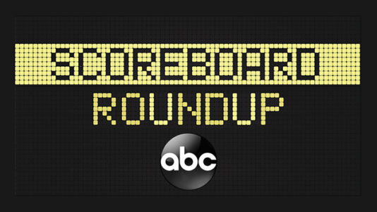 Scoreboard roundup — 5/23/18
