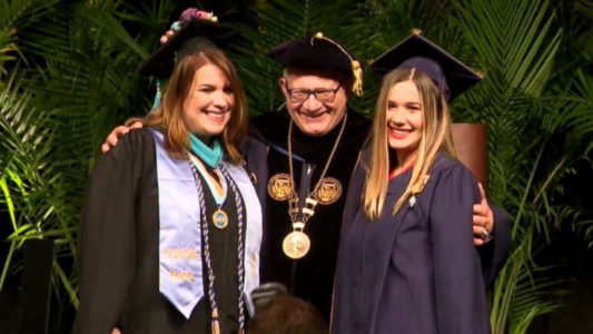 Mom, daughter graduate together from Florida university