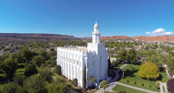 St. George LDS Temple Vandalized Early Saturday Morning