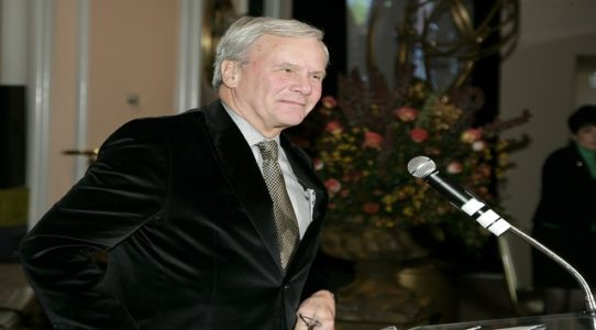 Third woman accuses Tom Brokaw of inappropriate conduct