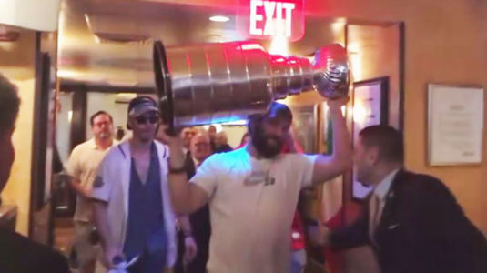 Ivanka Trump, Jared Kushner party with Stanley Cup, Alex Ovechkin at DC restaurant