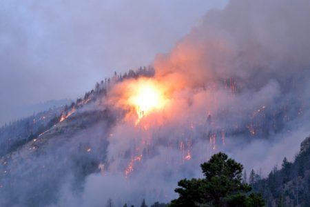 Trail Mountain Fire continues to grow in Emery County