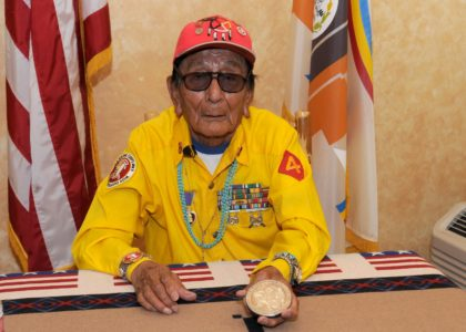 Navajo Code Talker Samuel Tom Holiday dies at age 94