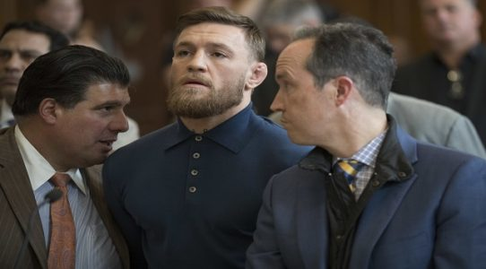 Conor McGregor says he 'regrets' melee that got him arrested on assault charges