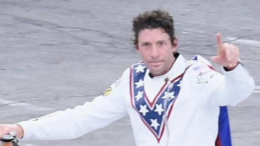 Travis Pastrana completes iconic Evel Knievel jumps