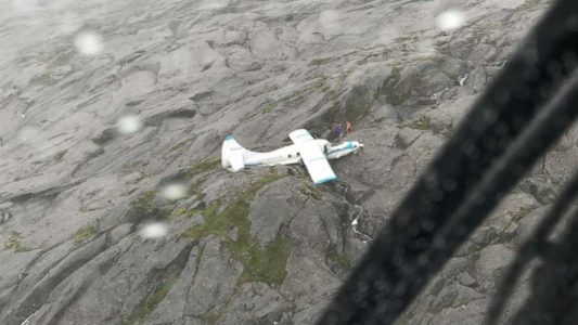 Alaska plane crash survivor describes 'terrifying' experience