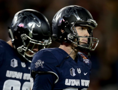 Utah State's Dominik Eberle Named Midseason All-American by USA Today Sports