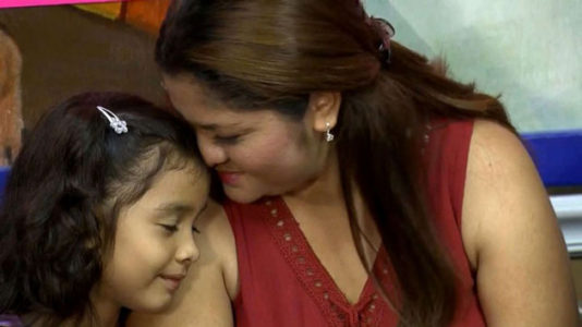 6-year-old girl heard asking through tears to call family is reunited with mother