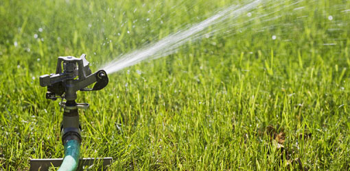 Salina City turns irrigation water back on, with restrictions