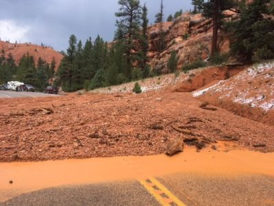 SR-12 briefly closed in Garfield County is back open