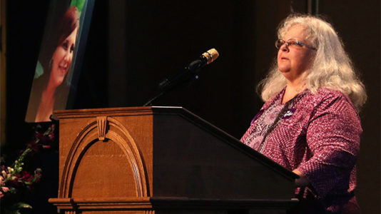 Heather Heyer's mom warns against ceding ground to white nationalists