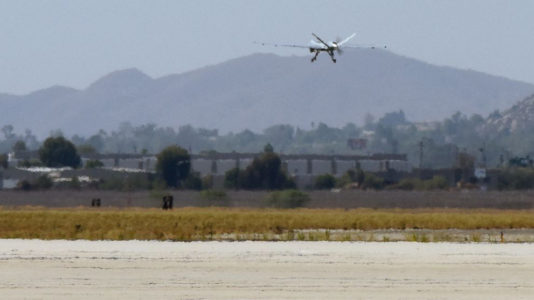 National Guard using Reaper drone to fight wildfires