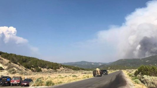 Wildfires continue in Sanpete and Utah Counties