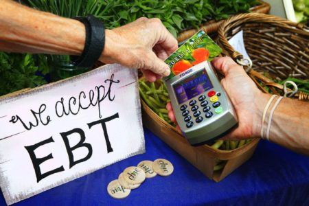 Food-stamp recipients urged to ration as shutdown continues