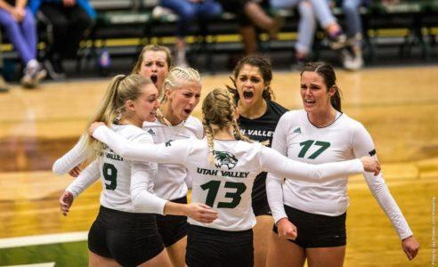 UVU Volleyball Downs Idaho State 3-1