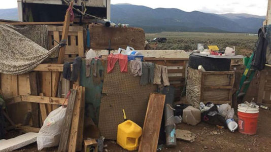 Eleven children rescued from 'filthy' compound in rural New Mexico