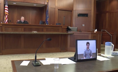Teen accused in attempted backpack bomb pleads not guilty