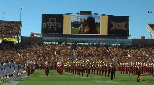 Iowa State mourns slain star golfer with sea of yellow, video tribute