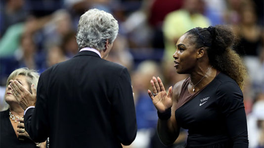 Serena Williams loses temper, US Open final in stunning upset