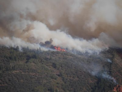 Crews expect increased containment of Pole Creek Fire