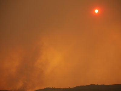 Some wildfire evacuees returned to homes south of Provo