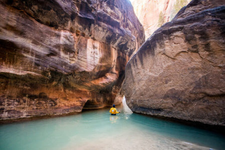Easement allows permit resumption for Zion Narrows trail use