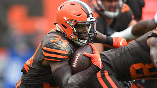 Cleveland Browns trade running back Carlos Hyde to Jacksonville Jaguars