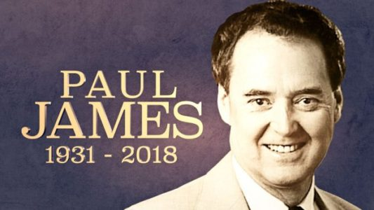 Legendary Utah Sportscaster Paul James Dead at 87