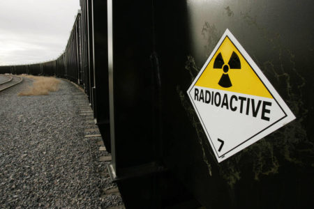 Tons of radioactive waste leave Oklahoma for Utah mill