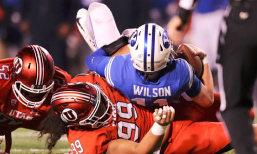No. 18 Utah rallies to top rival BYU 35-27
