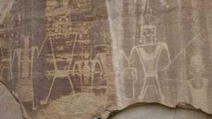 Company to alter plan to leave historic petroglyphs in place
