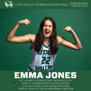 Former Richfield Star Emma Jones Scores 13 In UVU'S Win Over La Verne