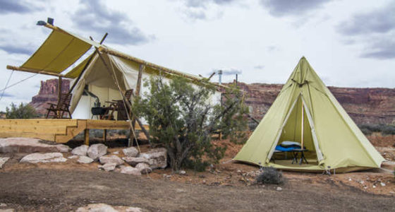 Utah ranchers frustrated as 'glamping' replaces grazing