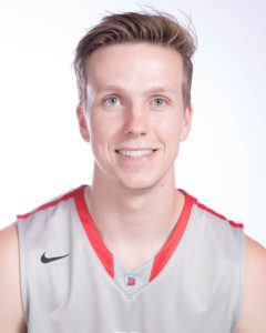 Matt Conway of Dixie State Basketball Named RMAC Defensive Player of the Week