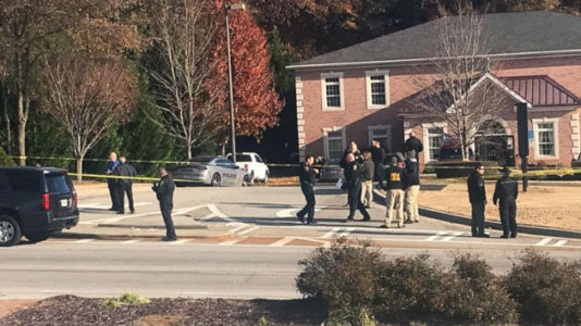 Veteran Georgia police officer shot in the face, but manages to fire back at suspect: Officials