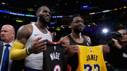 LeBron James, Dwyane Wade square off for what could be last time