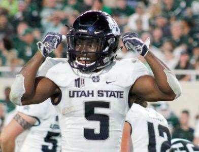 Utah State's Darwin Thompson to Enter 2019 NFL Draft